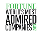 2012Fortune world`s most admired companies